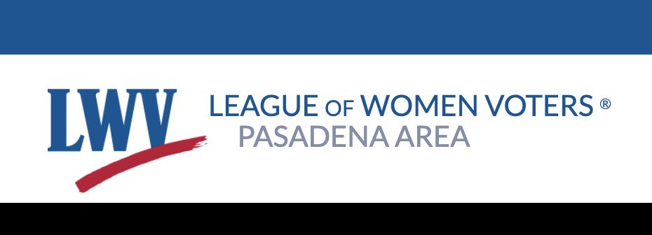 League of Women Voters Pasadena Area