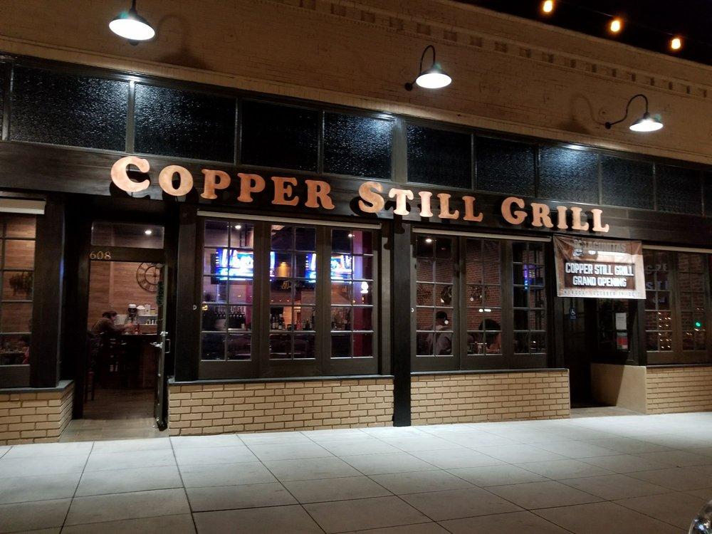 Copper Still Grill
